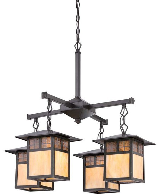 Quoizel Samara Chandelier craftsman lighting