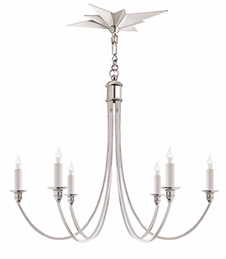visual comfort venetian chandelier