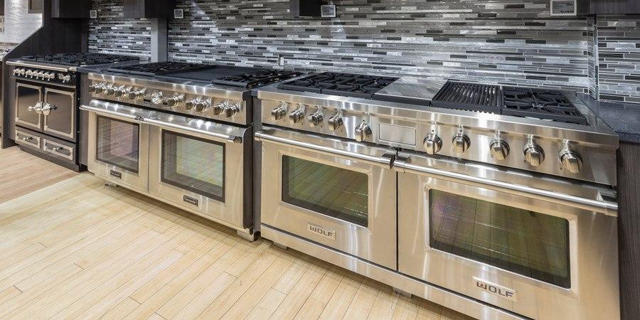 Yale Appliance Professional Range Display