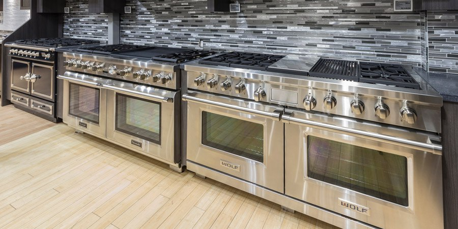 Yale Appliance Professional Range Display