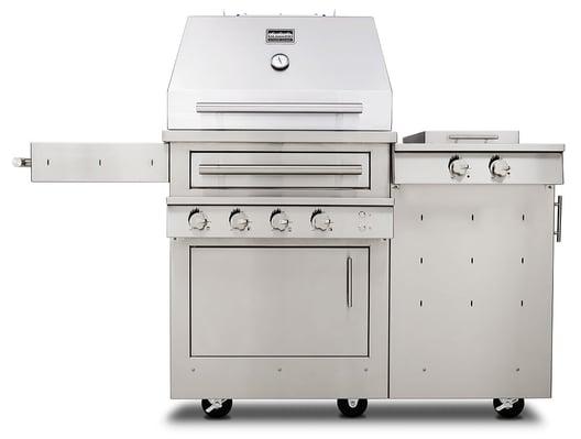 k500hs-freestanding-grill-with-side-burner