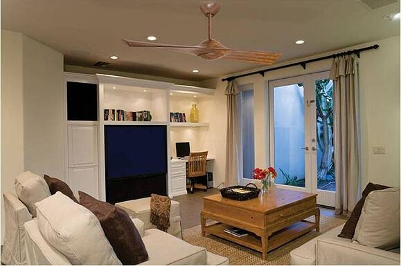 The Wing Contemporary Ceiling Fan