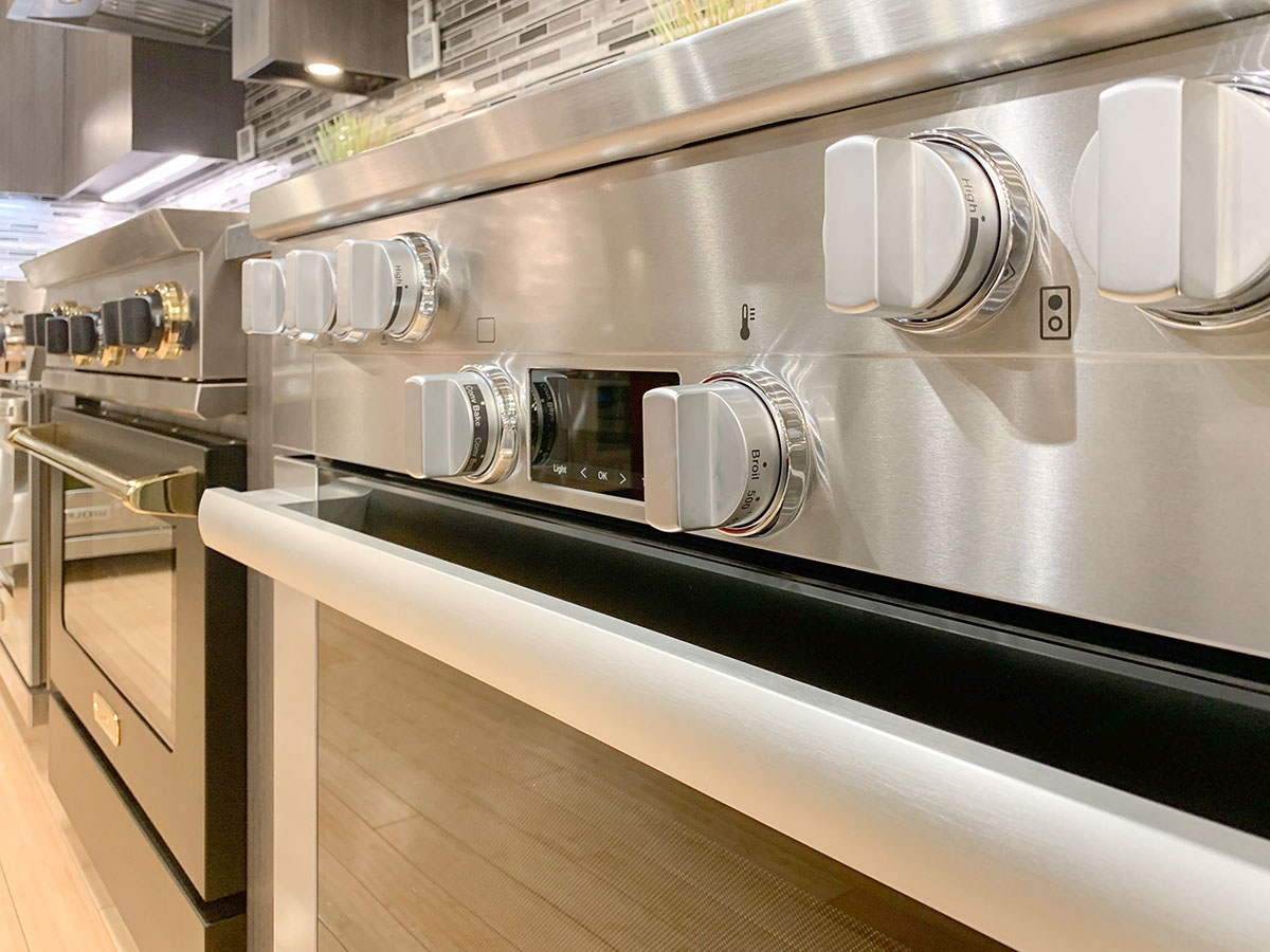 Miele Professional Range Oven Controls