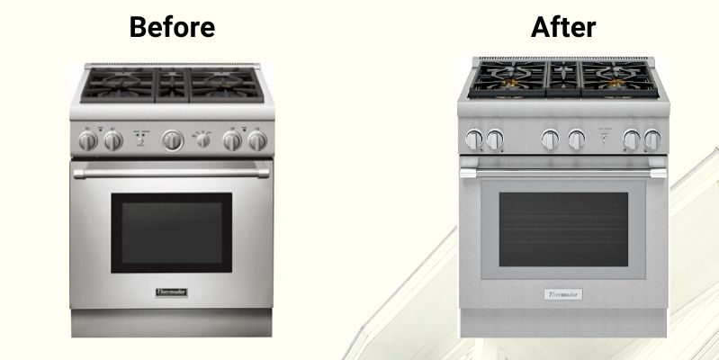 Prg304wh Professional Gas Range