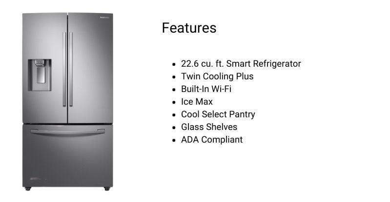 samsung Counter Depth Refrigerator