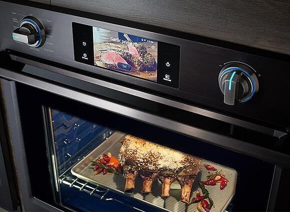 samsung wall oven gourment cook feature