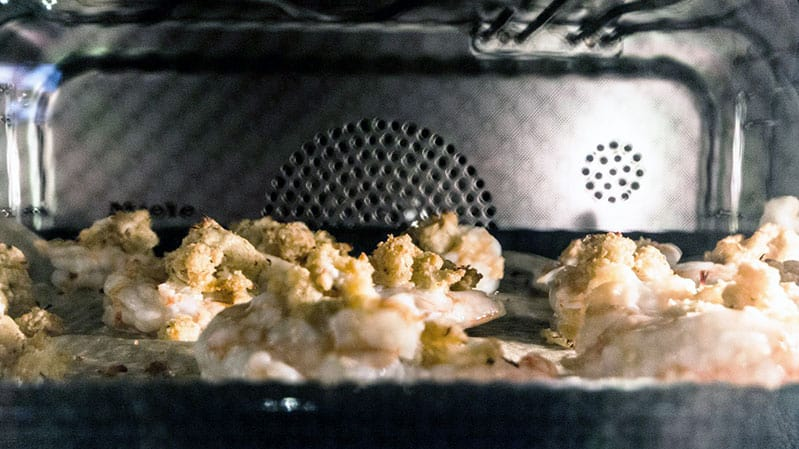 shrimp-cooking-in-steam-oven