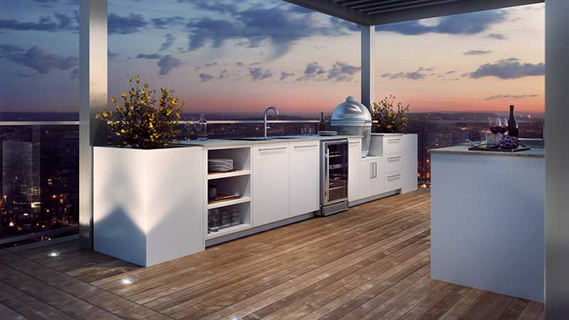 urban-bonfire-galley-shaped-outdoor-kitchen