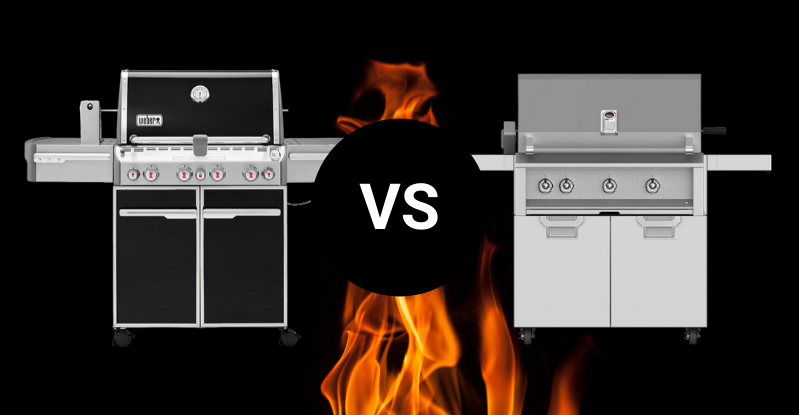 weber summit vs hestan aspire
