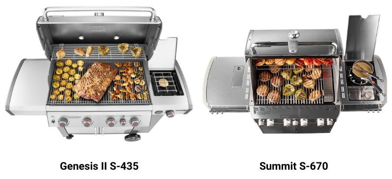 weber-genesis-vs-summit-grill-size