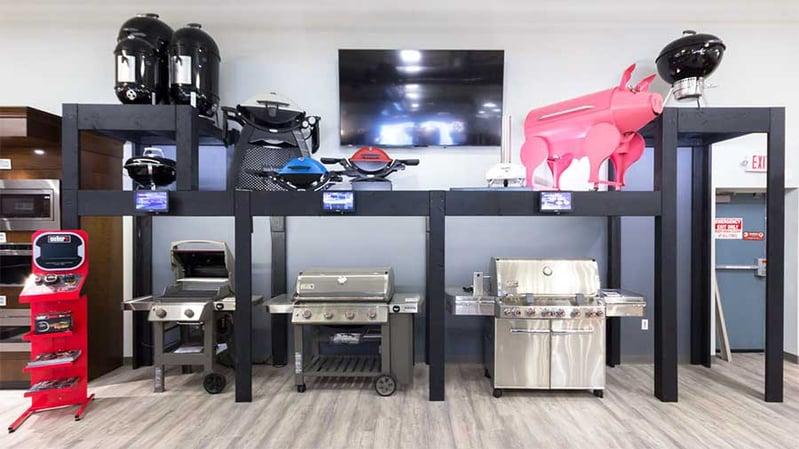 weber-grill-display-yale-appliance-framingham