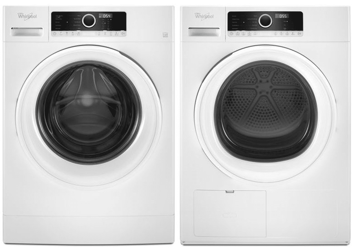 whirlpool compact laundry washer dryer WFW3090GW WHD3090GW