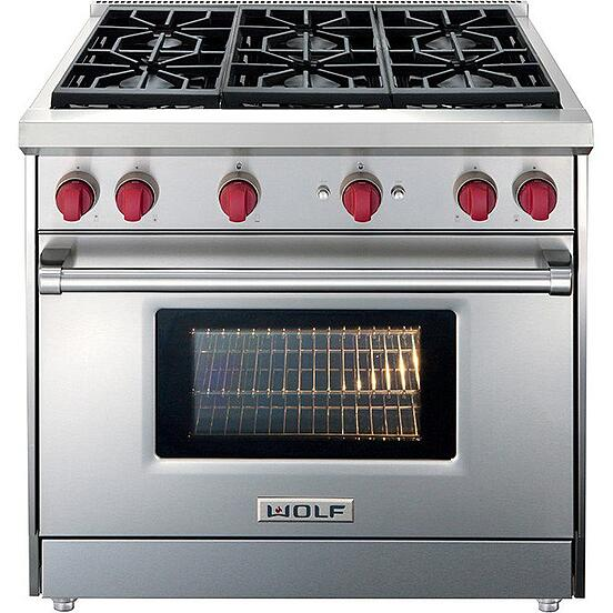 Best 36 Inch Pro Gas Ranges Reviews Ratings Prices