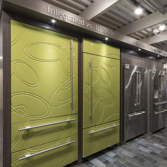 integrated vs. built in refrigerator