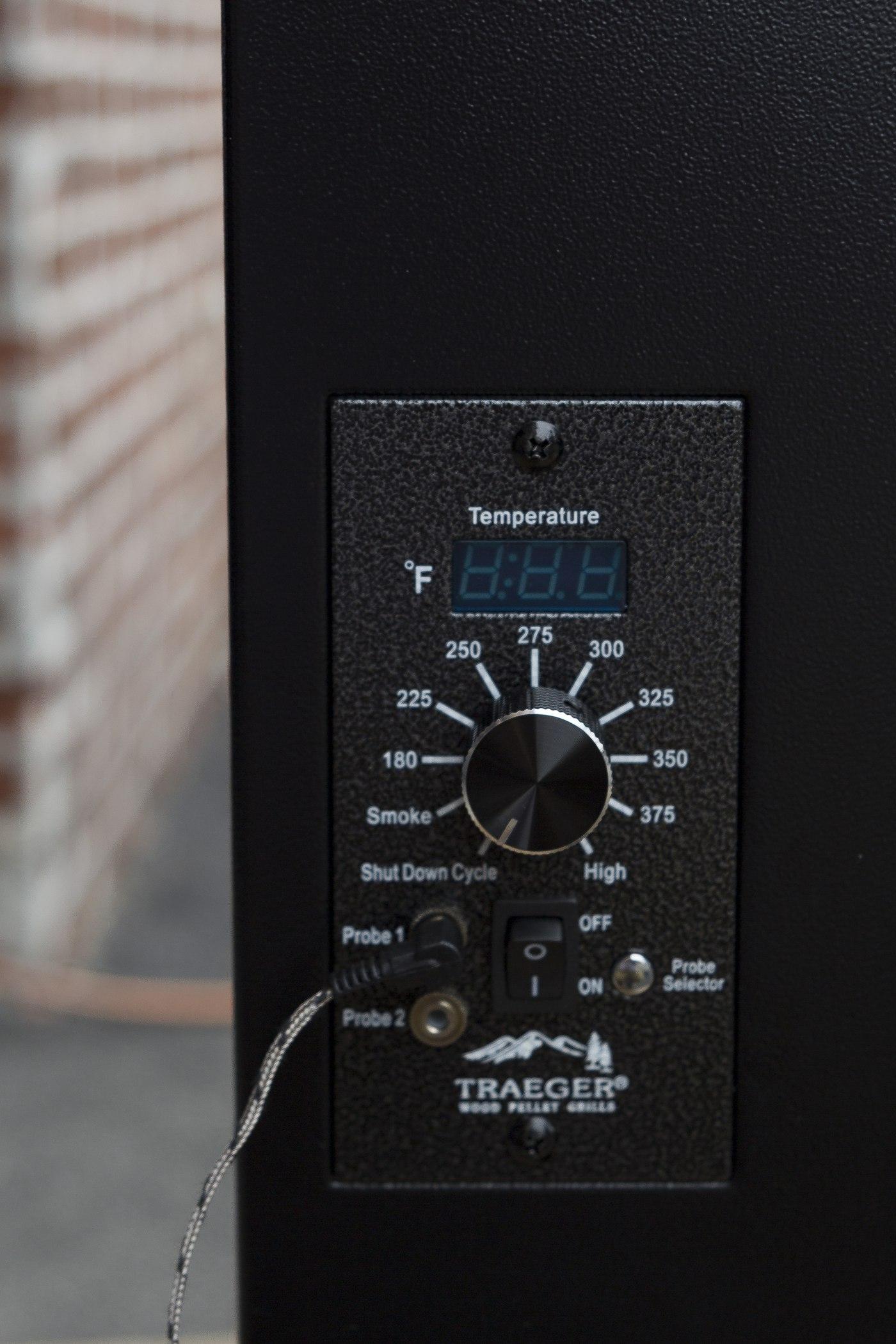 traeger grill temperature probe