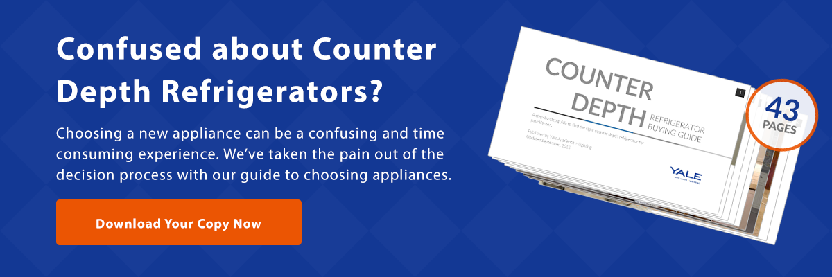 View our counter depth refrigerator buying guide