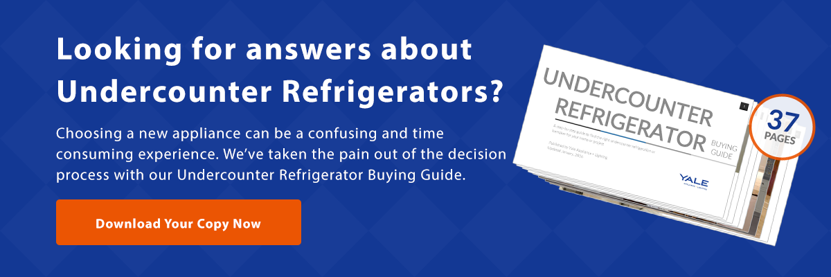 Undercounter Refrigerator Buying Guide