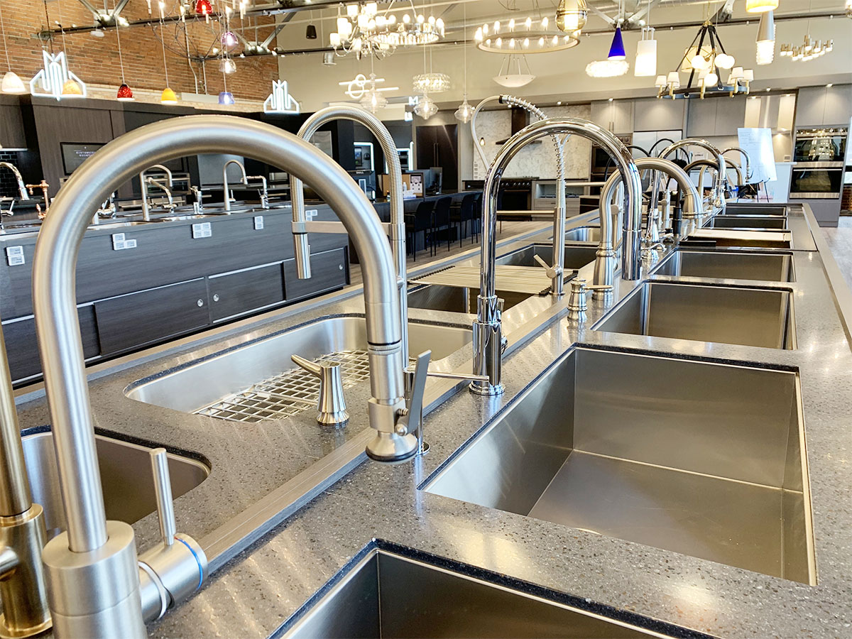 Contemporary Kitchen Faucets At Yale Appliance