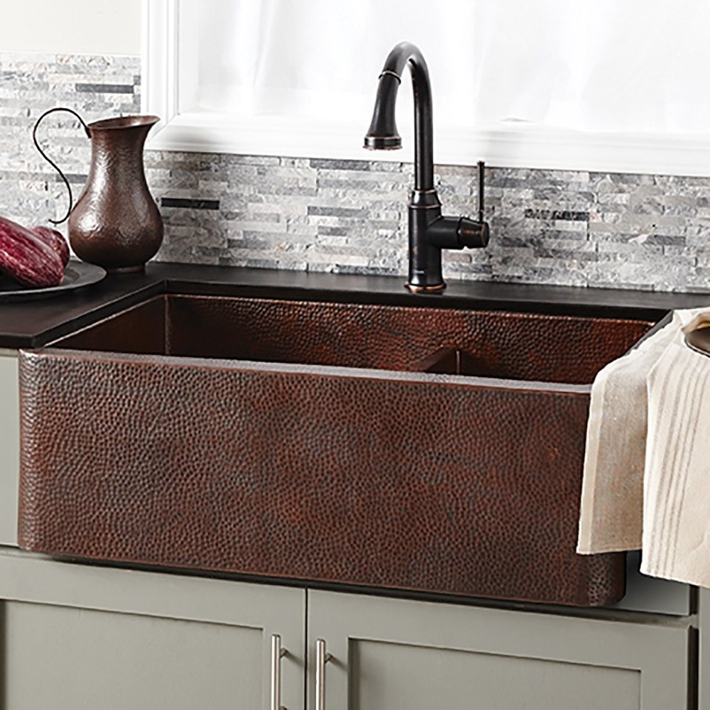 Copper Apron Front Native Trails Sink