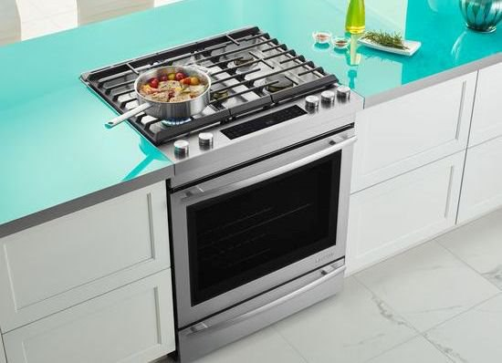 gas ranges vs gas slidein ranges