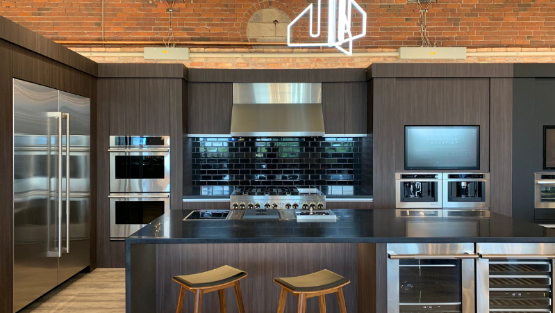 Jenn-Air Kitchen at Yale Appliance in Boston