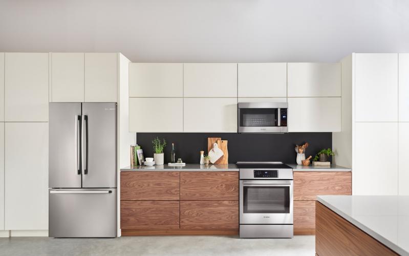 New Bosch Refrigeration Kitchen