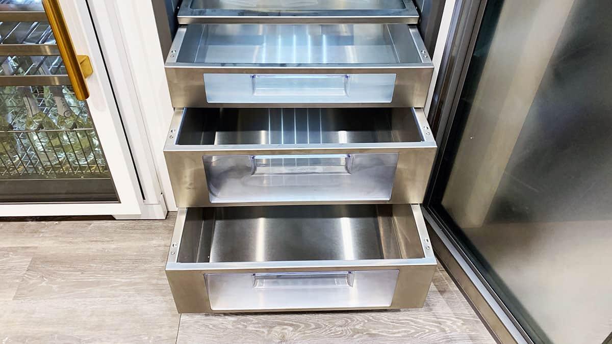 True-Refrigeration-Crisper-Drawers