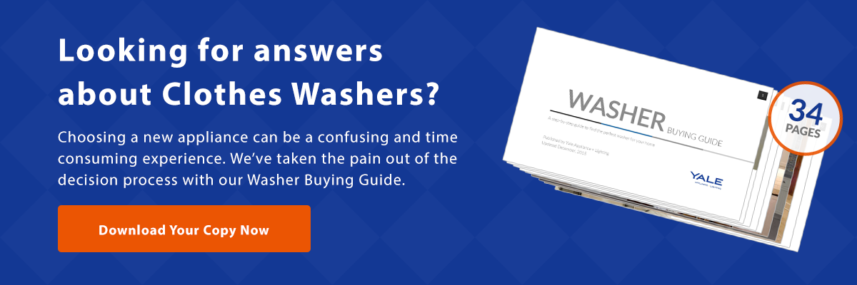View our Washer Buying Guide