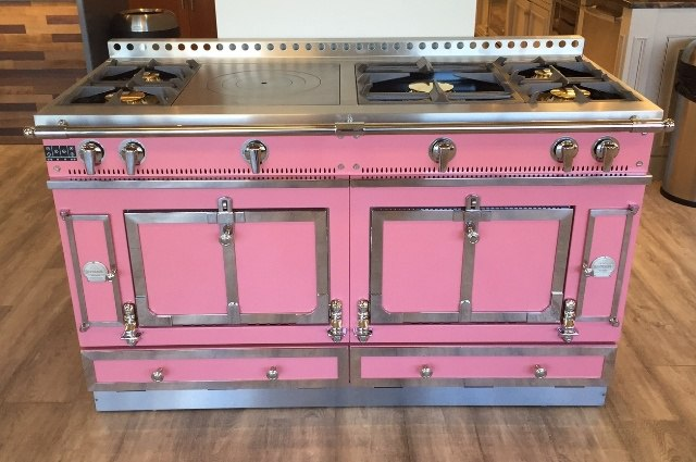 La Cornue Pink Range at Yale Appliance