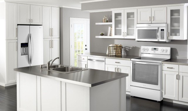 White Kitchen Stainless Appliances is stainless steel out for kitchen appliance packages?