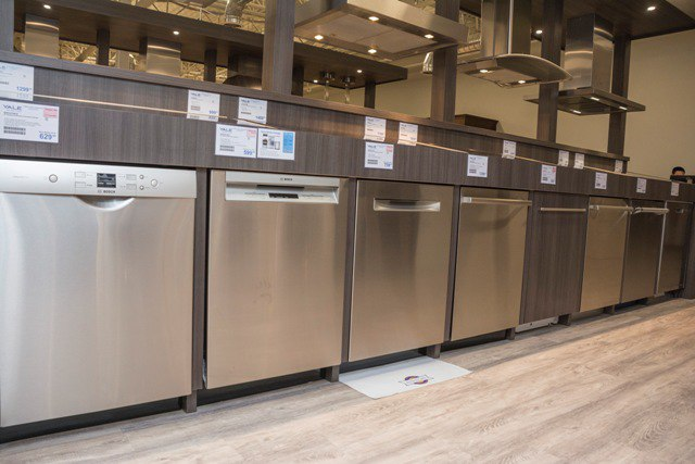 Bosch Dishwashers Yale appliance showroom