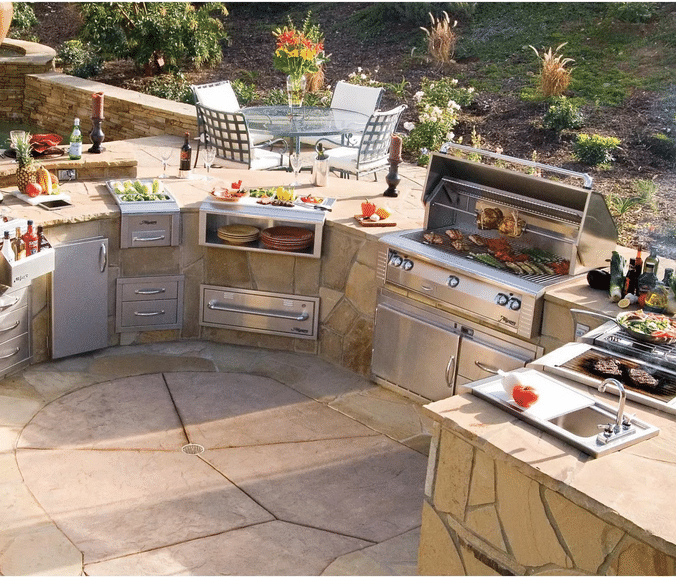 outdoor kitchen designs with smoker. alfresco outdoor kitchen png Alfresco Grills in Boston 2015  Reviews Ratings