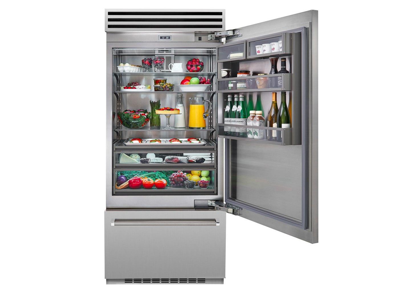 New Bluestar 36 Inch Professional Built In Refrigerator