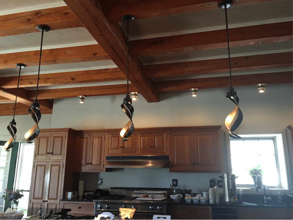 country-style-kitchen-hubbardton-forge-1 & How to Light a Country Style Kitchen (Reviews / Ratings / Prices) azcodes.com
