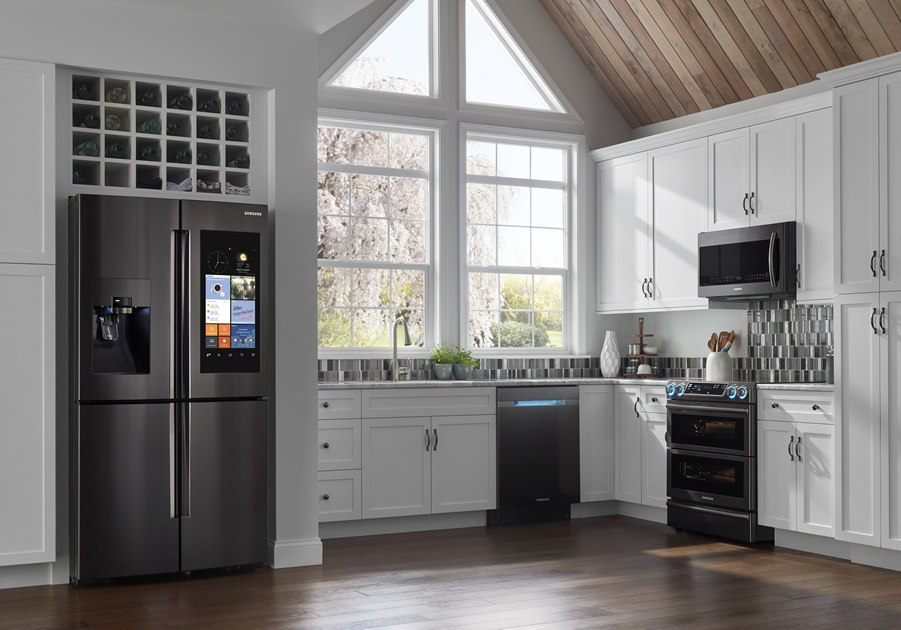 Samsung Family Hub Kitchen Appliance Package
