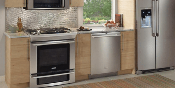 electrolux gas slidein ranges