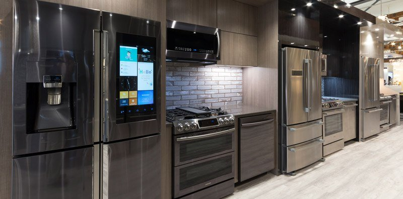 Yale Appliance Kitchen Package Displays